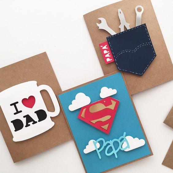 Over 100 Fathers Day Gift Ideas: 自己的卡片自己作,父親節卡片DIY靈感大補帖│62icon